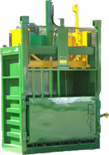 Cardboard Recycling Baler Hire
